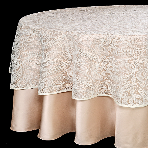 Chantilly Lace on Blush
